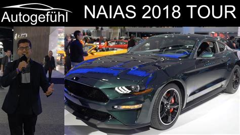 Naias Detroit Motor Show 2018 Highlights Review Tour With