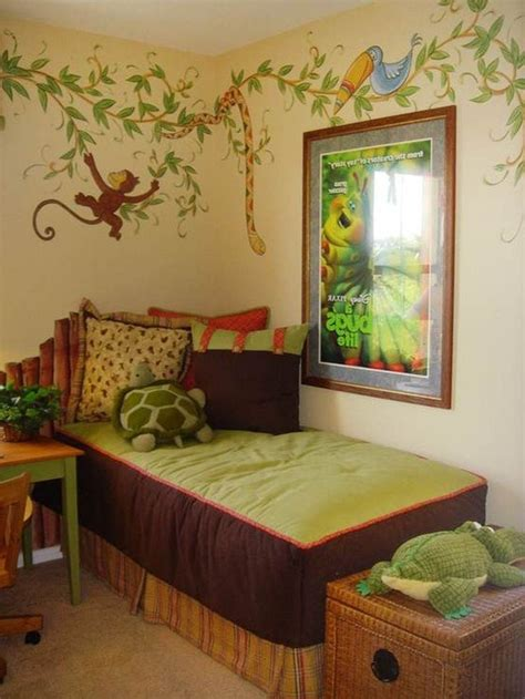 ideas  boys jungle bedroom  pinterest