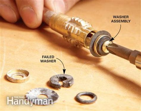 Proof Faucet Stem by Fix A Leaking Proof Faucet The Family Handyman