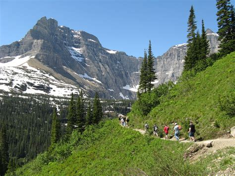 Iceberg Lake Trail ~ Glacier National Park Travel
