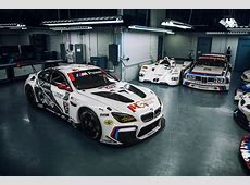 BMW Reveals M6 GTLM Race Cars with Sexy New Livery
