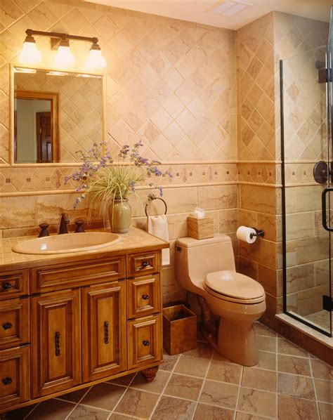 tile ideas  small bathrooms bathroom mediterranean