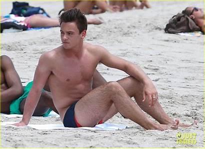 Tom Daley Shirtless Beach Boy Diving Diver