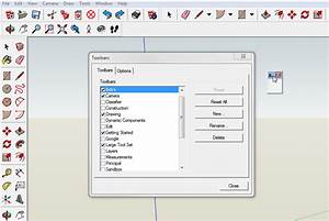 SketchUp 2014-Custom Toolbars and New Toolbar Features
