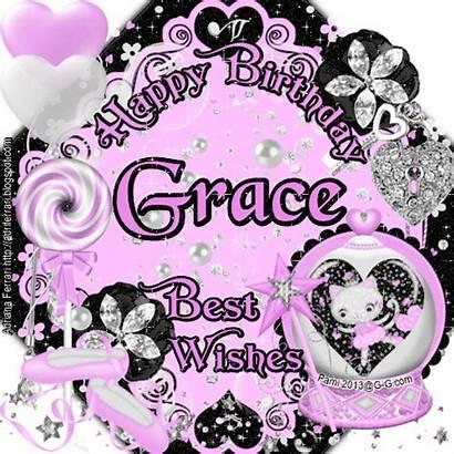 Glitter Graphics Grace Birthday Happy Personal Copy