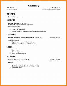 13 how to make a cv for students with no experience With how to make a high school resume