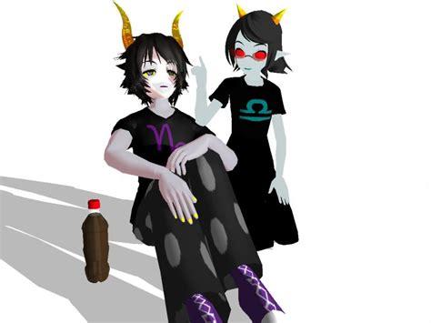 Gamzee And Terezi By Kasumiharu On Deviantart