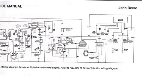 John Deere Starter Relay Wiring Diagrams