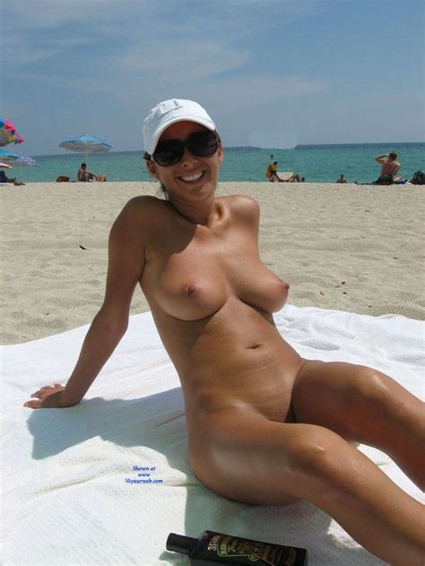 Sitting Naked At The Beach May Voyeur Web Hall