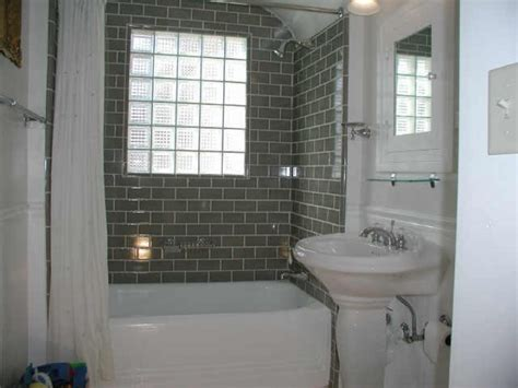 white tile bathroom design ideas subway tile for small bathroom remodeling gray color in