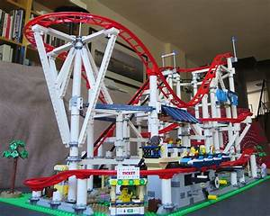 Lego Roller Coaster 2018