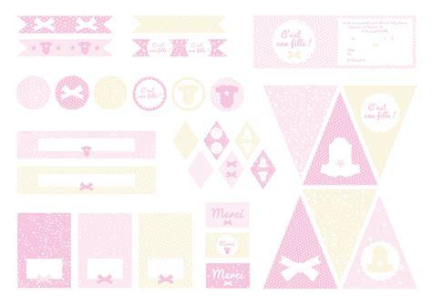 printable baby shower c est une fille d 233 coration printable baby shower sweet day