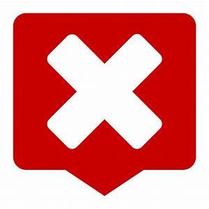 Status dialog error symbolic Icon | Matrilineare Iconset ...