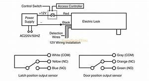 Timer Open Door Lock Stainless No Mode Fail Secure