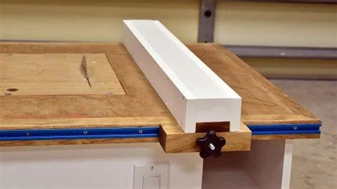 Make A Table Saw Fence For Homemade Table Saw Https
