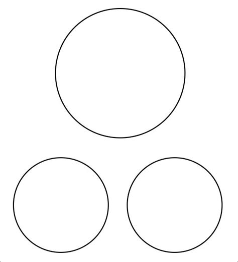 Large Venn Diagram Printable Two Circle Diagram Elsavadorla