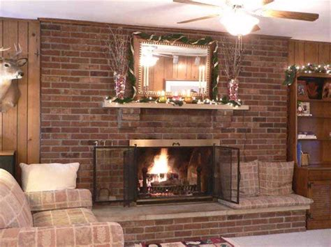 fireplace mantels and surrounds ideas photo decoration living room ideas with brick fireplace interior design