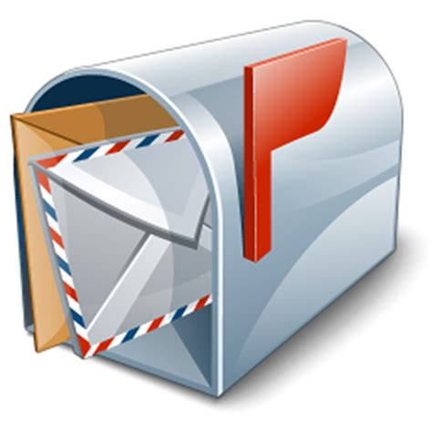 mailbox icon transparent contact us cwi