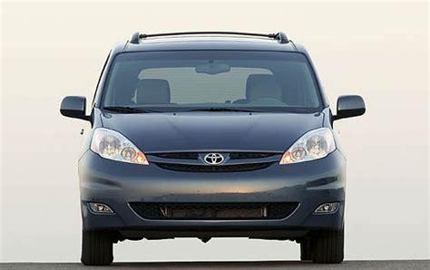 2008 Toyota Sienna Oil Capacity Specs