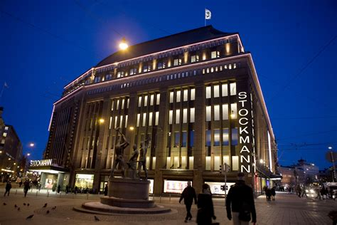 Stockmann Oyj, façade lighting of the Helsinki department ...