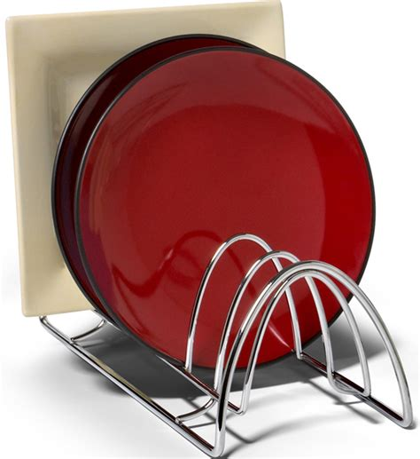 plate storage rack chrome  plate holders