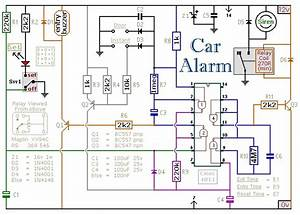 Car Security System Wiring Diagram