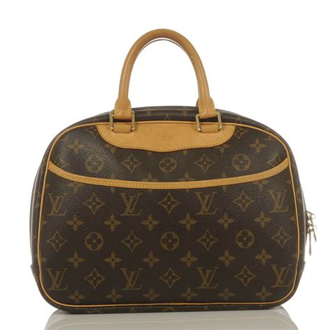 authentic louis vuitton monogram trouville handbag ebay