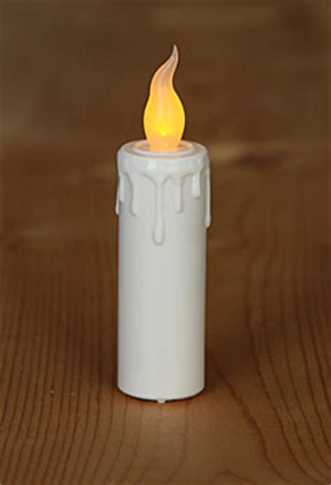 super bright flameless mini led taper candle