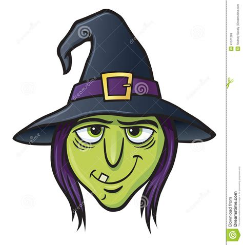Scary Halloween Witch Coloring Pages by Witch Face Stock Photo Image 41571288
