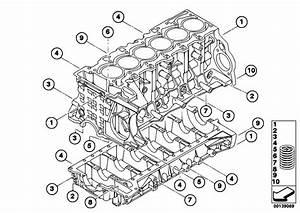 Original Parts For E90 325i N52 Sedan    Engine   Cylinder