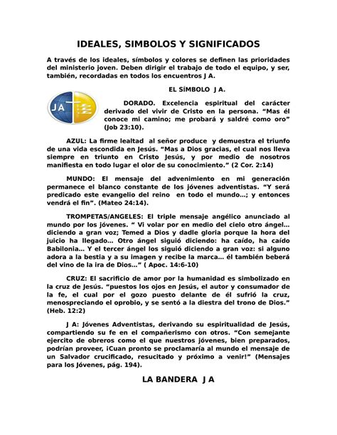 Ideales Y Simbolos Clubes Ja By Jose Andres Ortiz Santiago
