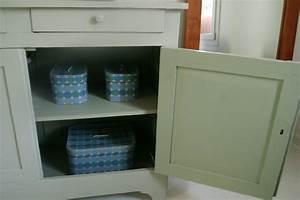 Meuble Repeint En Gris Perle : meuble repeint en gris affordable meuble tv rcup gris ~ Dailycaller-alerts.com Idées de Décoration