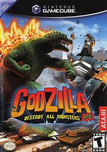 Godzilla Destroy All Monsters Melee Gamecube Game