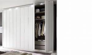 Armoire Laqué Blanc : armoire design blanc laqu et chrom ~ Teatrodelosmanantiales.com Idées de Décoration