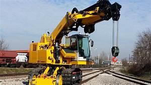 Railroad Crane Colmar T10000fscg