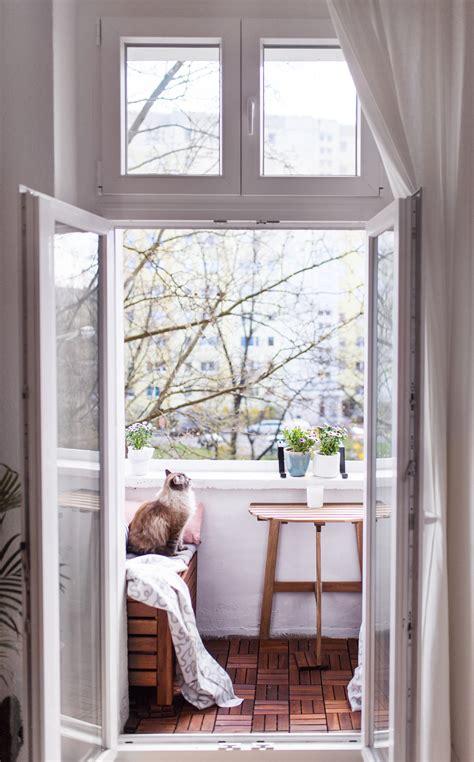 Kleinen Balkon Einrichten by Unser Kleiner Mini Balkon Tipps Einrichten Staufl 228 Che