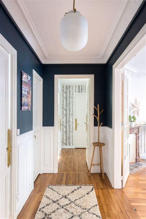couloir astuces deco peinture papier peint idee deco