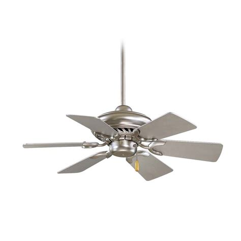 ceiling fan with pendant light ceiling fan without light in brushed steel finish f562