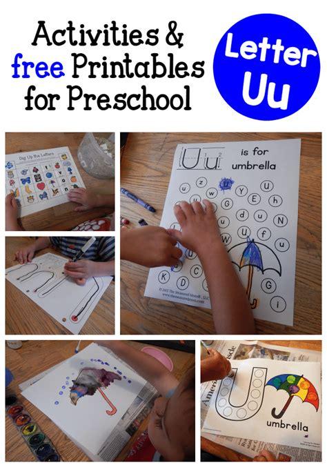 letter  activities  preschool  measured mom