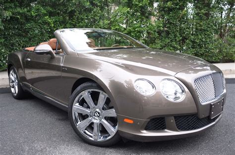 2014 Bentley Continental Gtc W12 For Sale