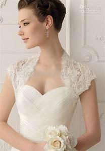 2017 lace short sleeves bolero shrug in many color for for Wedding dress boleros and shrugs