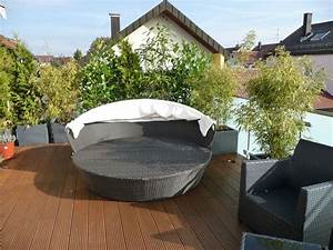 balkon oder terrassenarrangements fragen bilder pflanz With französischer balkon mit mosaikkugeln für den garten