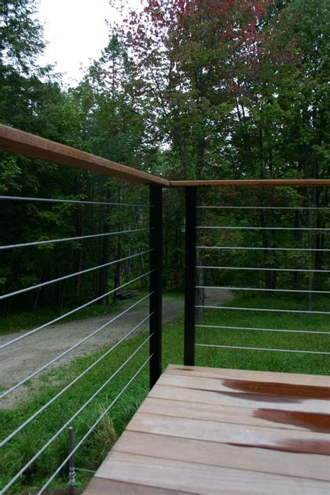 cable cabin best 25 cabin decks ideas on house in the