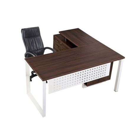 table l l shape office table at rs 12500 executive table