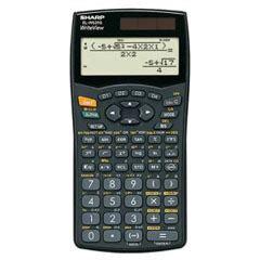 test des sharp el wg taschenrechners sharp el wg im test
