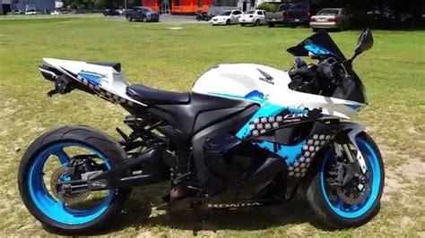 2009 Honda CBR 600rr custom - YouTube
