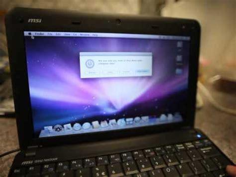 netbook dual boot windows 7 mac osx