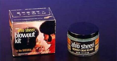 They Always Aired The Afro Sheen