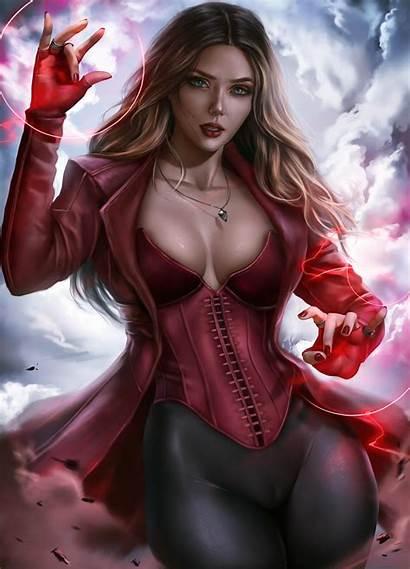 Scarlet Witch Marvel Logan Cure Avengers Wanda