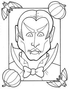 Scary Horror Coloring Pages - Bing images | Wood burning